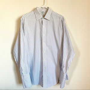 Brooks Brothers Slim Fit Striped Button Down Shirt